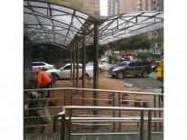 不銹鋼雨棚